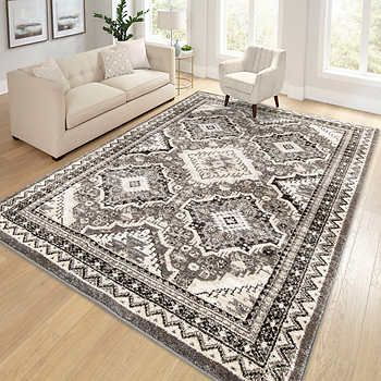 Rockford Rug Collection Tabriz Family Room Furniture Brown Couch Living Room Living Room Area Rugs