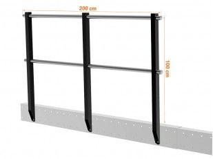 Tm 15 Mezzanine With M Straight Stairs En 2020 Plancher Bois Plancher En Bois Escalier Droit