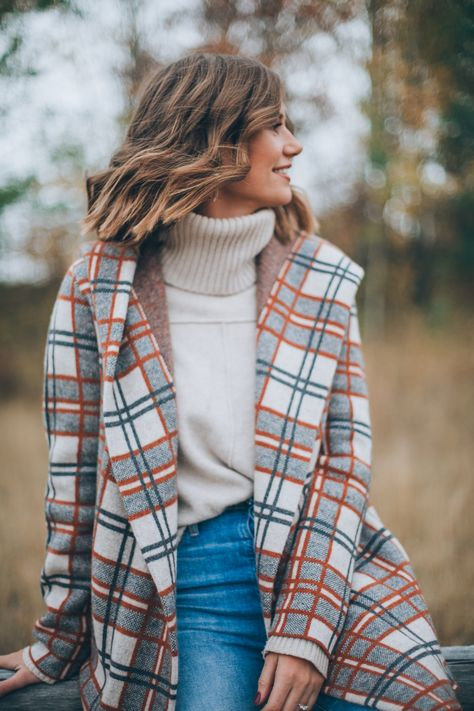 Plaid Jacket For Fall - Wanderlust Out West