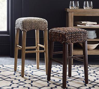 Seagrass Backless Bar Counter Stools Bar Stools Counter Stools Seagrass Dining Chairs