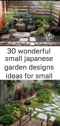 30 Wonderful Small Japanese Garden Designs Ideas For Small Space In Your Houses Smalljapanesegarde Japanese Garden Landscape Japanese Garden Zen Garden Design