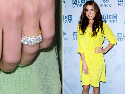 Nikki Reed Shows Off Her Platinum And Diamond Wedding Band