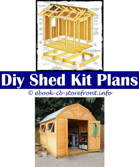 Pin Op Easy Modern Shed Plans