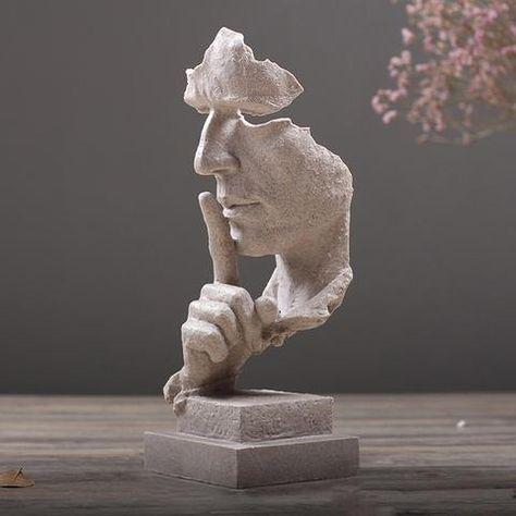 European Modern Minimalist Living Room Decoration Decoration Crafts Home Furnishing Abstract Sculpture Figures Art Statue