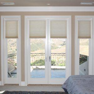 Vertical Cellular Blinds For Sliding Glass Doors Door Coverings Sliding Doors Interior Elegant Doors