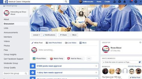 I Will Publish Your Article Ads On My Medical Health Facebook Group Page 1 Million Fans
