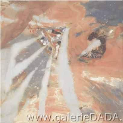 Helen Frankenthaler,  Mount Sinai Fine Art Reproduction Oil Painting