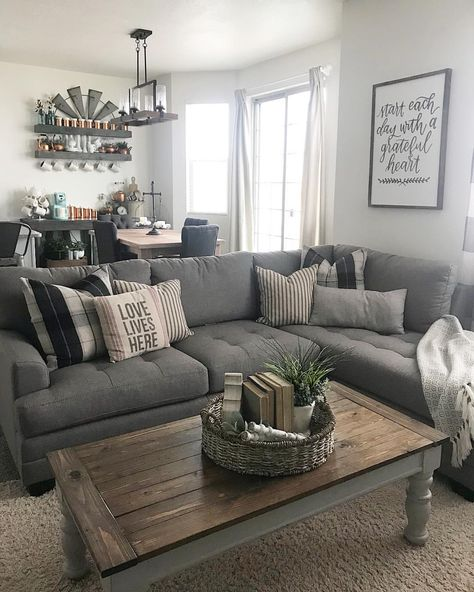 Grey And Brown Living Room, Gray And Brown Living Room