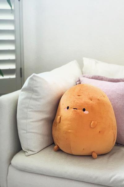 Tayto Potato Mochi Plush