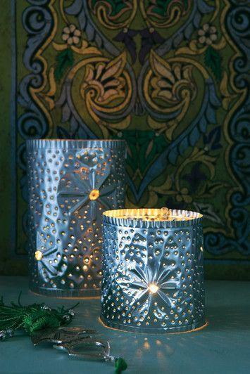 orientalische lampen mit bunten quasten