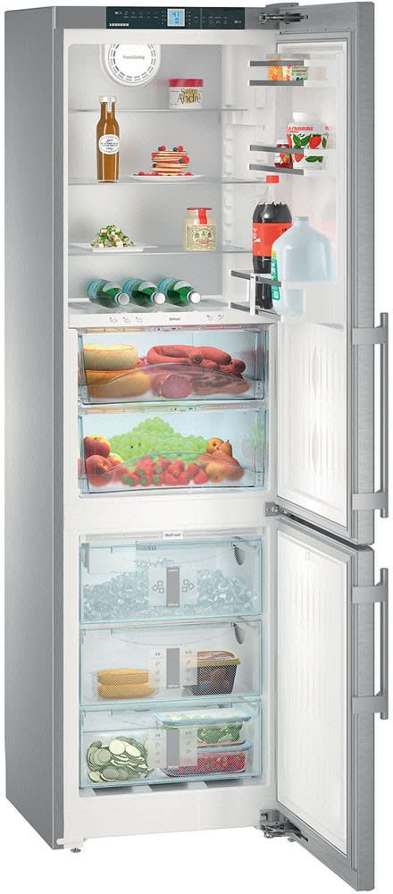 Liebherr 24 Inch 11 9 Cu  Ft  Bottom Freezer Refrigerator Stainless
