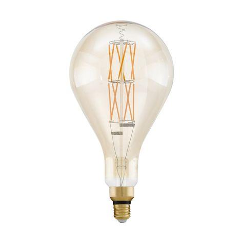 Ampoule Filaments Croisés Led Compatible Variateur E27 8w