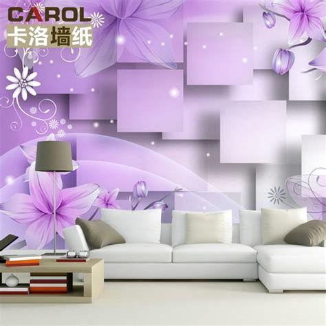 Wallpaper Dinding Frozen Terbaru Purple Living Room Wooden Wall Clock Luxury Art
