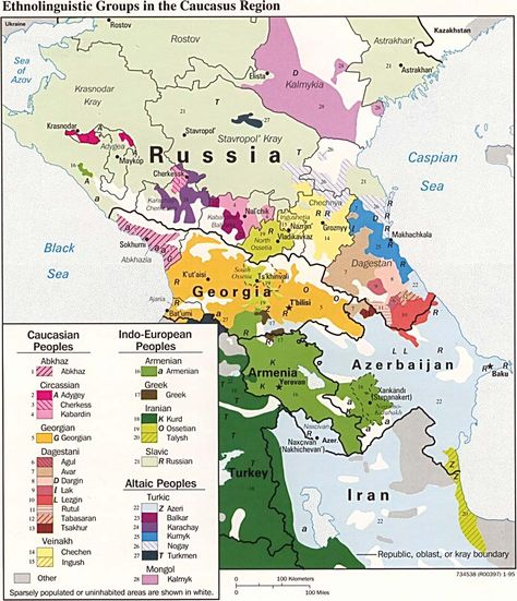 Map Of Armenia And NagornoKarabakh Breaks Out Provinces For Both - Political map of armenia