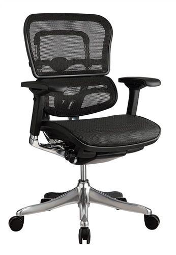 Tremendous Eurotech Seating Ergo Elite Mid Back Ergonomic Office Chair Ibusinesslaw Wood Chair Design Ideas Ibusinesslaworg
