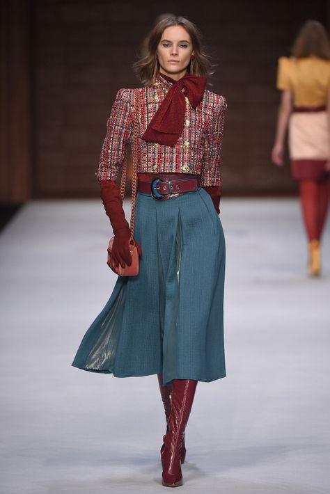 Elisabetta Franchi Fall Winter Fashion Show - - Elisabetta Franchi RTW Fall 2018 Source by filmundfaden