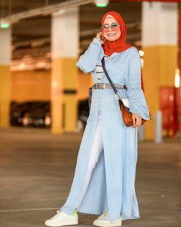 كيفية تنسيق اللون الازرق الفاتح Blue Outfit Fashion Outfits