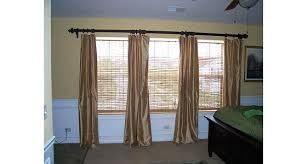 Image Result For 3 Windows Side By Side With Curtains Curtains