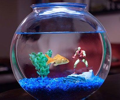 Gifts For Geeks Thisiswhyimbroke Com Aquarium Decorations Aquarium Ornaments Geek Decor