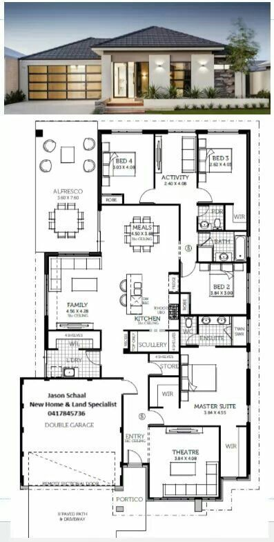 Casa Ideal In 2020 House Construction Plan My House Plans House Plan Gallery