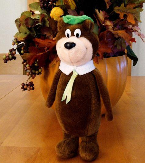 Plush Yogi Bear Stuffed Animals Retired by ParadeOfMemories