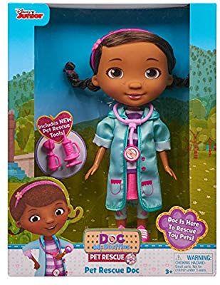Doc Mcstuffins 92494 Pet Rescue Doc Doll Multicolor Doc Mcstuffins Disney Cars Toys