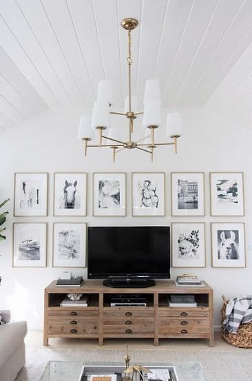 Empty Wall Ideas With Tv 61 Ideas For 2019 Living Room Tv Wall Wall Decor Living Room Tv Wall Decor