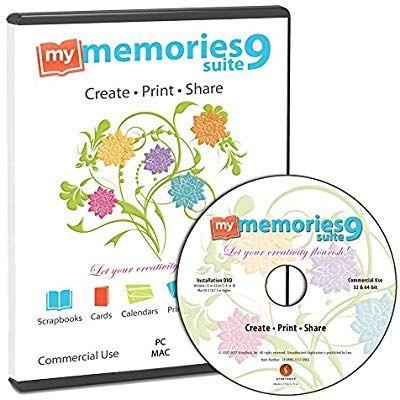 Amazon Com My Memories Suite 9 Digital Scrapbooking Software Mac And Pc Digital Scrapbooking Software Digital Scrapbooking Tutorials Digital Scrapbooking