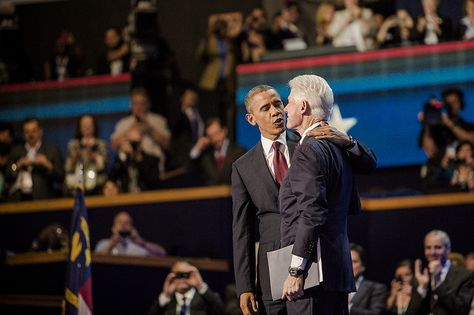 You guys look hella cute together... by kk+, via Flickr (Clinton is a lean mean fighting machine these days!)