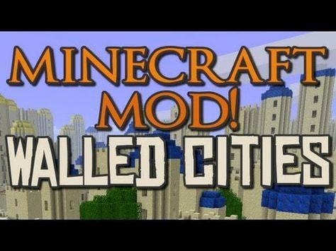 Minecraft Mod Formivore S City Generator City Generator Walled City Minecraft