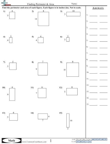 6th Grade Math Worksheets Area And Perimeter Area Worksheets Area And Perimeter Worksheets Area And Perimeter 6th grade math worksheets printable