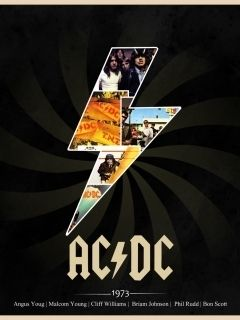 AC DC Wallpaper for HTC Phones as HTC Desire, ONE X etc.