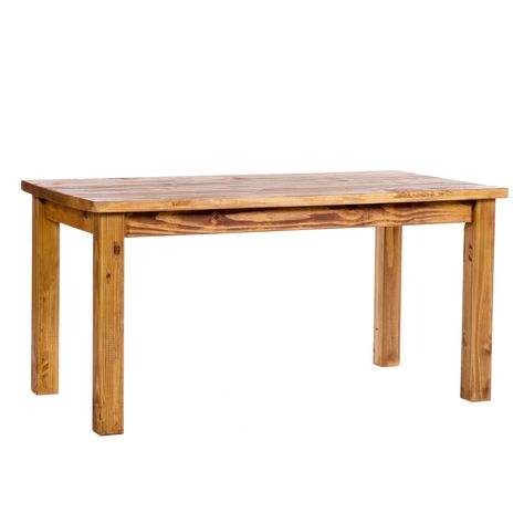 Farmhouse Pane 1500mm Rectangular Dining Table is  an elegant piece which features a pine build, an aged wax finish and a plank style effect. #Furniture #Kitchen #Dining #KitchenAndDining #PriceCrashFurniture #KitchenFurniture #DiningFurniture #Farmhouse #Table #DiningTable http://pricecrashfurniture.co.uk/farmhouse-pane-1500mm-rectangular-dining-table.html