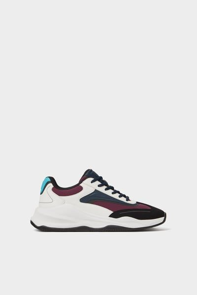 5f0287c0 SNEAKERS WITH THICK SOLES-Sneakers-SHOES-MAN | ZARA Greece | Mens ...