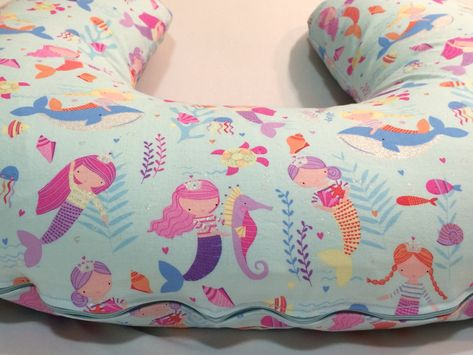 Mermaid Boppy Cover Sea Life Nursing Pillow Cover Breastfeeding Simple Minnie Mouse Boppy Pillow Cover