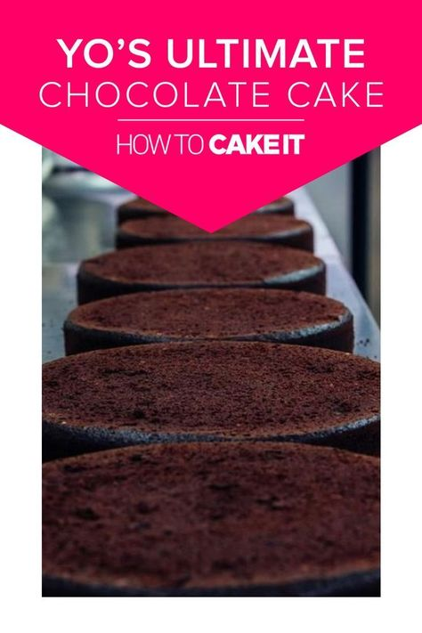 Yo's Ultimate Chocolate Cake Recipe   Moist, delicious, and sturdy enough to carve, this easy to follow recipe will quickly become a favorite!   How To Cake It #Baking #Chocolate #recipes