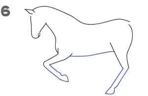 تعليم الرسم للاطفال رسم حصان خطوة بخطوة بالقلم الرصاص بطريقة سهلة وبسيطة Backrest Pillow Pillows