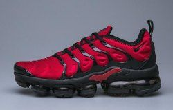 premium selection 566d5 e744a Nike Air VaporMax Plus TN Red Black Women's Men's Running ...