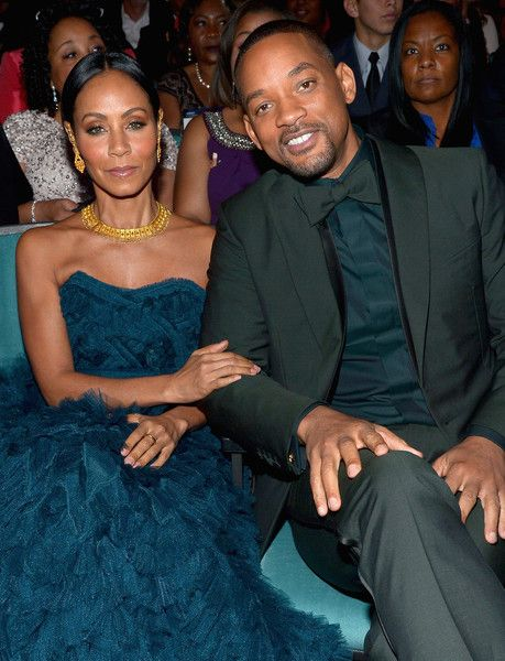 Actors Will Smith (R) and Jada Pinkett Smith attend the 47th NAACP Image Awards presented by TV One at Pasadena Civic Auditorium on February 5, 2016 in Pasadena, California.