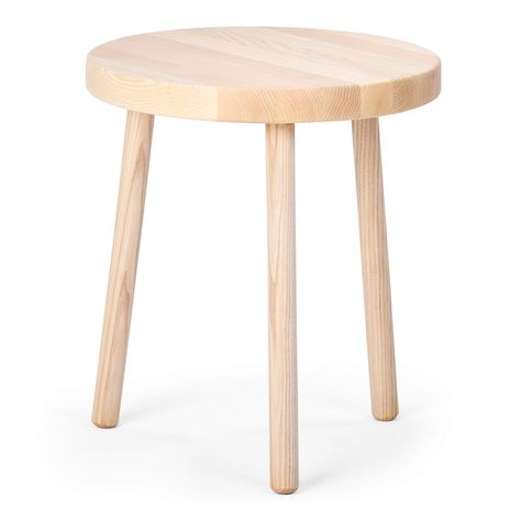 Dreibein Hocker Eschenholz Hocker Esche Holz Holz