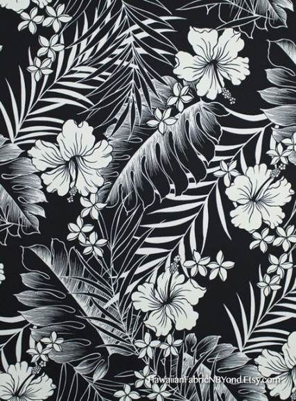 33 Best Ideas For Flowers Black And White Tropical Tropical Illustration Black And White Flowers Tropical Flower Tattoos