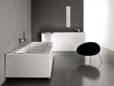 Vasca Da Bagno Zucchetti : Vasca da bagno rettangolare grande by kos by zucchetti design