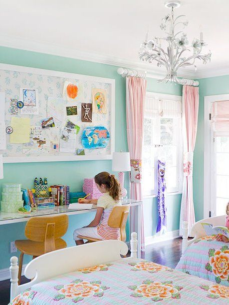 18 Pretty Girl S Bedroom Ideas In Every Style Shared Girls Bedroom Girl Bedroom Decor Girly Room