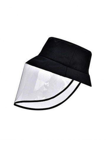 Detachable Face Shield Outdoor Protective Bucket Hat Face Shield Bucket Hat Fashion Bucket Hat Women