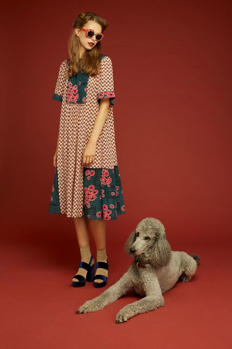 Orla Kiely Spring 2018 Ready-to-Wear collection, runway looks, beauty, models, and reviews.