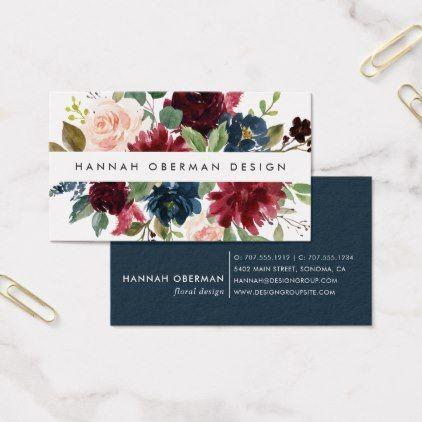 Radiant Bloom Floral Business Card Zazzle Com Floral Business Cards Florist Business Card Business Card Inspiration