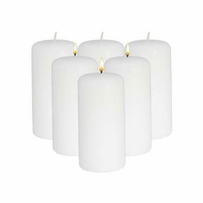 Candlenscent 3x6 White Pillar Candles Unscented Pack Of 3x6 6 Pack White Fashion Home Garden Homedcor Can In 2020 Pillar Candles White Pillar Candles Candles