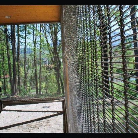 Recinzione Reti Per Giardino.Recinzione Da Giardino A Sbarre A Rete In Metallo Stainless