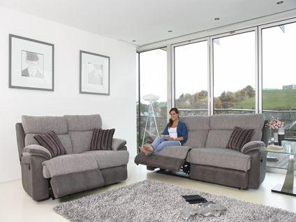 Ambassador 3 seater sofa with 2 manual recliner actions | Hot offers Furniture | Harveys | Man cave | Pinterest | Recliner and Men cave & Ambassador 3 seater sofa with 2 manual recliner actions | Hot ... islam-shia.org