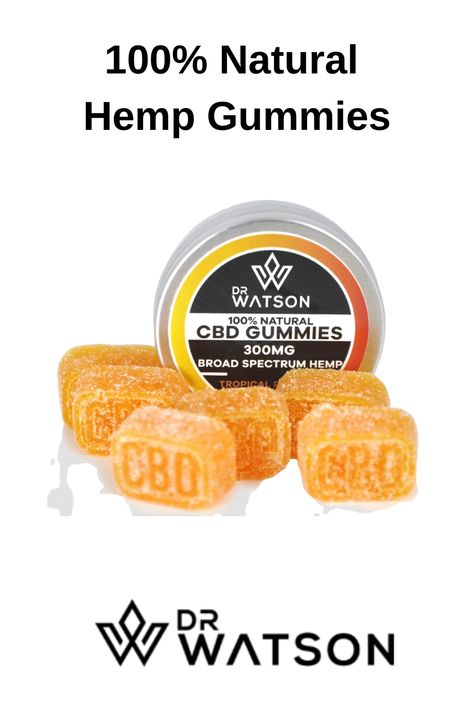 12 super high strength broad spectrum CBD gummies (large). You only need  one or two per day to have the desired effect. Dr Watson CBD gummies  are tropical passion flavoured using only 100% natural ingredients such  as organic passion fruit pulp and mango essence. Click now to order yours today! #drwatson #cbdgummies #cbdbenefits #supplements #hempbenefits #hempgummies #holistichealing #selfcare